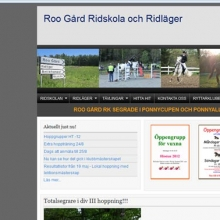 Roo Gård ridskola och ridläger